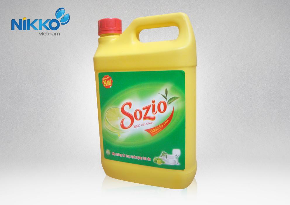 Nước rửa chén Sozio